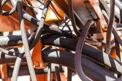 Vecchie riparazione e costruzione del meccanismo Fotografie Stock Libere da Diritti