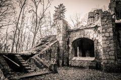 Vecchie rovine Fotografia Stock