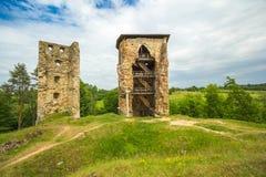 Vecchie rovine Fotografie Stock