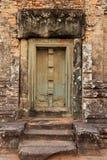Vecchie rovine Angkor Wat Fotografie Stock