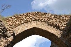 Vecchie rovine del castello di Vrskamyk immagine stock libera da diritti