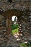 Vecchie rovine del castello di Vrskamyk immagine stock