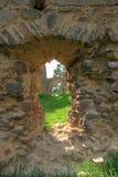 Vecchie rovine del castello di Vrskamyk fotografie stock