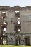 Vecchie rovine di pietra del castello Fotografia Stock Libera da Diritti