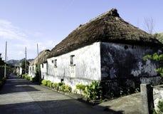 Vecchie rovine il Batanes Filippine delle Camere di Ivatan Fotografie Stock Libere da Diritti