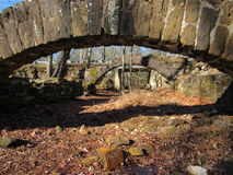 Vecchie rovine nel New Jersey del sud Immagini Stock
