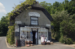 Vecchie sale da tè inglesi Godshill Immagini Stock