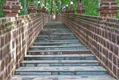 Vecchie scala. Fotografia Stock