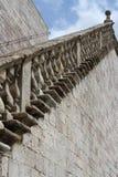 Vecchie scala di pietra Immagine Stock