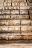 Vecchie scale del cemento Fotografia Stock Libera da Diritti