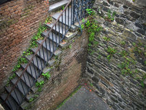 Vecchie scale del mattone Immagine Stock Libera da Diritti