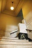 Vecchie scale della costruzione Immagine Stock