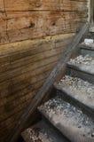 Vecchie scale devastanti Immagini Stock Libere da Diritti