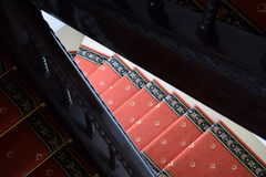 Vecchie scale di legno immagini stock libere da diritti