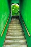 Vecchie scale grungy Fotografia Stock Libera da Diritti