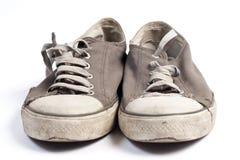 Vecchie scarpe Immagine Stock Libera da Diritti