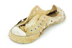 Vecchie scarpe da tennis Immagini Stock Libere da Diritti