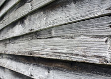 Vecchie scosse della quercia su un granaio fotografia stock libera da diritti