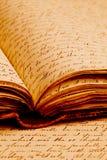 Vecchie scritture Immagine Stock