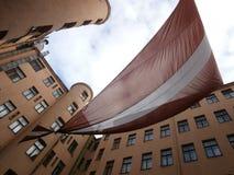vecchie sedi di KGB a Riga Fotografia Stock Libera da Diritti