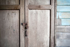 Vecchie serrature arrugginite Fotografia Stock Libera da Diritti