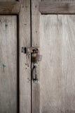Vecchie serrature arrugginite Fotografia Stock