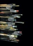 Vecchie spazzole Fotografia Stock Libera da Diritti