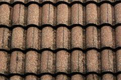 Vecchie strutture del tetto Immagine Stock Libera da Diritti