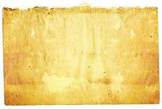 Vecchie strutture di carta Immagini Stock Libere da Diritti
