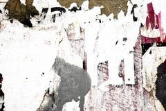 Vecchie strutture di lerciume dei manifesti Fotografie Stock