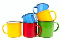 Vecchie tazze Fotografie Stock Libere da Diritti