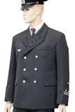 Vecchie uniformi ferroviarie del lavoratore Immagine Stock