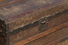 Vecchie valigie Fotografie Stock