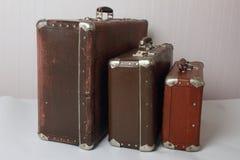 Vecchie valigie d'annata fotografia stock libera da diritti