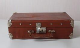 Vecchie valigie d'annata immagini stock