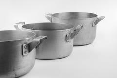 Vecchie vaschette Immagine Stock