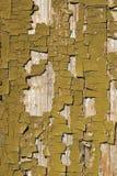 Vecchie vernici su legno Fotografia Stock Libera da Diritti
