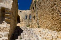 Vecchie vie della città di Mardin Immagine Stock Libera da Diritti