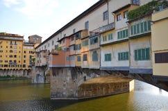 Ponte Vecchio -佛罗伦萨-意大利 库存图片