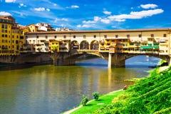 vecchio γεφυρών ponte στοκ εικόνες με δικαίωμα ελεύθερης χρήσης