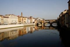 vecchio της Φλωρεντίας Ιταλία ponte Τοσκάνη Στοκ εικόνα με δικαίωμα ελεύθερης χρήσης