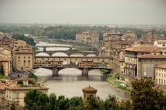 vecchio της Φλωρεντίας Ιταλία ponte Στοκ φωτογραφίες με δικαίωμα ελεύθερης χρήσης