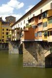 vecchio της Φλωρεντίας Ιταλία ponte Στοκ Φωτογραφίες