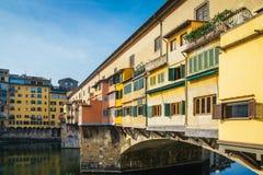 vecchio της Φλωρεντίας Ιταλία ponte &T Στοκ φωτογραφία με δικαίωμα ελεύθερης χρήσης