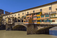 vecchio της Φλωρεντίας Ιταλία ponte Στοκ φωτογραφία με δικαίωμα ελεύθερης χρήσης