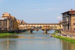 vecchio της Φλωρεντίας Ιταλία ponte Στοκ εικόνες με δικαίωμα ελεύθερης χρήσης