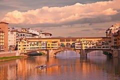 vecchio της Φλωρεντίας Ιταλία ponte &T Στοκ εικόνα με δικαίωμα ελεύθερης χρήσης