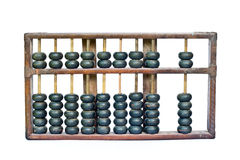 Vecchio abbaco di legno Immagini Stock