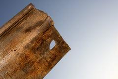 Vecchio acciaio Fotografia Stock