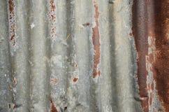 Vecchio acciaio Fotografia Stock Libera da Diritti